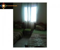 Appartement meublé à vendre prix négociable