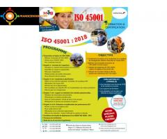 Formation ISO 45 001 version 2018