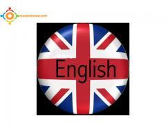 cours d'anglais a domicile