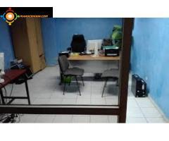 bureau 156 m² bien situé sur BD ANFA