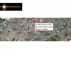 villa propre habitable 233m² hay riad rabat