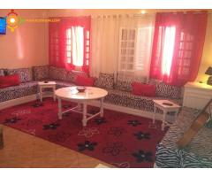 Villa à louer à Mehdia plage
