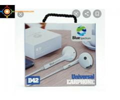 Écouteurs - Kitmain -D42 - Blanc ''LIVRAISON GRATUITE''
