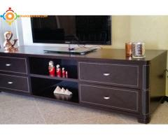 Table TV en bois