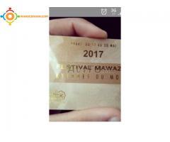 billet mawazine