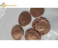 Pieces monnaies romaines