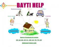 femmes de ménage nounous chez bayti help