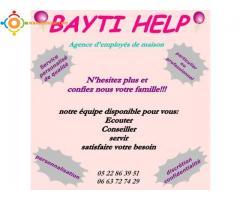 baby siter ivoirienne chez bayti help