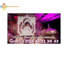 Animateur DJ professionnel pour Mariages à Casablanca 0661323043