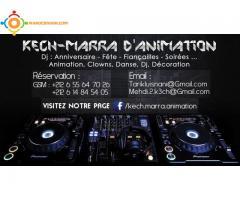 Kech-Marra D'animation