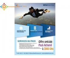 Pack  Création  Site Web  dynamique et respectueux des standards