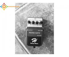 Pedale effet guitare noise gate