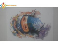 Carte Postale de la Peinture / Painting PostCard