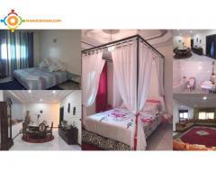 grand appartement meublé FES