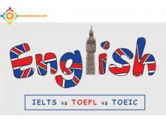 Préparation TOEFL  IELTS  TOEIC à domicile ou via Skype