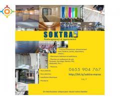 Aménagement, Agencement et rénovation