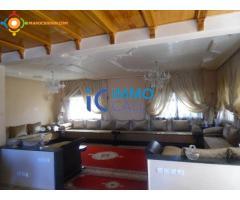 Agréable villa à vendre bien située à Temara plage