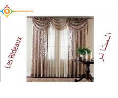 monter et démonter rideaux de fenêtres