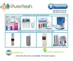 osmoseur fontaine distributeur filtre a eau pour tout les secteurs