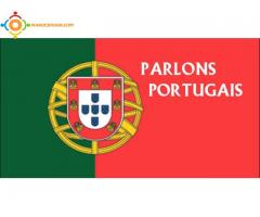 cours de portugais et du français