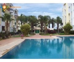Appartement 91 m2 avec piscine au bord de mer corniche mohammedia.