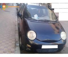 chery QQ  noire modèle 2008