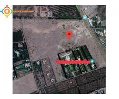 Terrain à vendre sur la route de Tahanouat