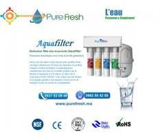 أجهزة تصفية الماء المنزلية والمهنية