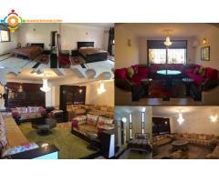 étage villa meublé 3 chs
