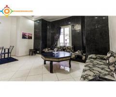 Appartement meublé a coté du bank al maghrib