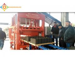 Machine Parpaing Brique | Machine Pavé Bordure | Prix Machine Agglos Hourdis