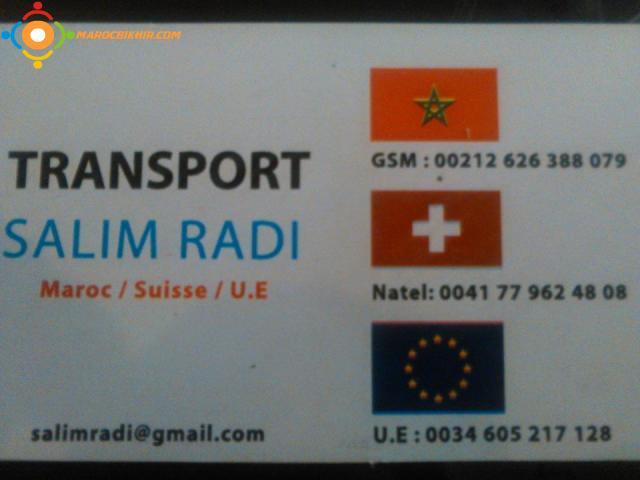 transport d m nagements suisse france espagne maroc europe bikhir annonce bon coin maroc. Black Bedroom Furniture Sets. Home Design Ideas