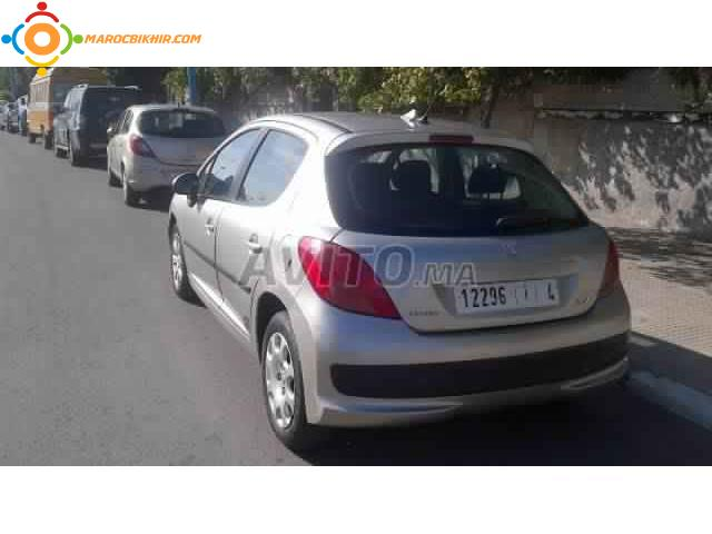 peugeot 207 diesel hdi casablanca bikhir annonce bon coin maroc. Black Bedroom Furniture Sets. Home Design Ideas