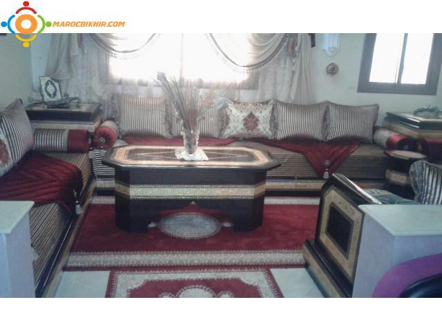 Salon complet t touan bikhir annonce bon coin maroc for Decoration jardin le bon coin vendee
