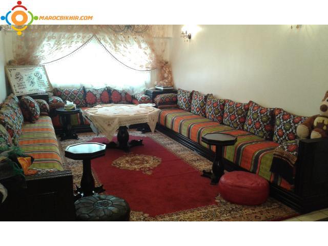 belle appt meubl longue dur bikhir annonce bon coin maroc. Black Bedroom Furniture Sets. Home Design Ideas