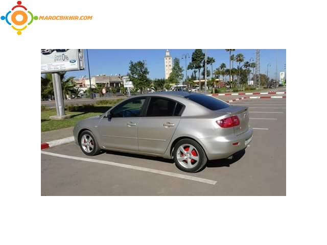 mazda 3 mod 2006 essence casablanca bikhir annonce bon coin maroc. Black Bedroom Furniture Sets. Home Design Ideas