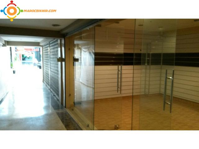 magasin louer avec option d 39 achat au centre ville bikhir annonce bon coin maroc. Black Bedroom Furniture Sets. Home Design Ideas