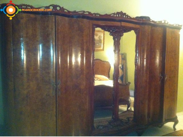 Chambre a coucher italienne style baroque bikhir annonce for Le bon coin chambre a coucher