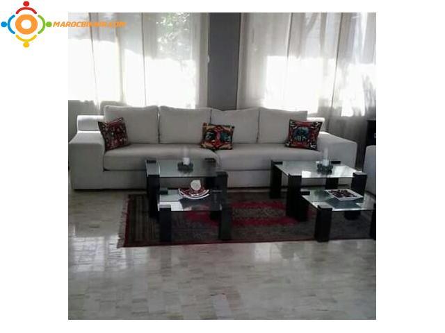 Super appartement meubl louer pr courte dur e bikhir for Appartement meuble a casablanca courte duree