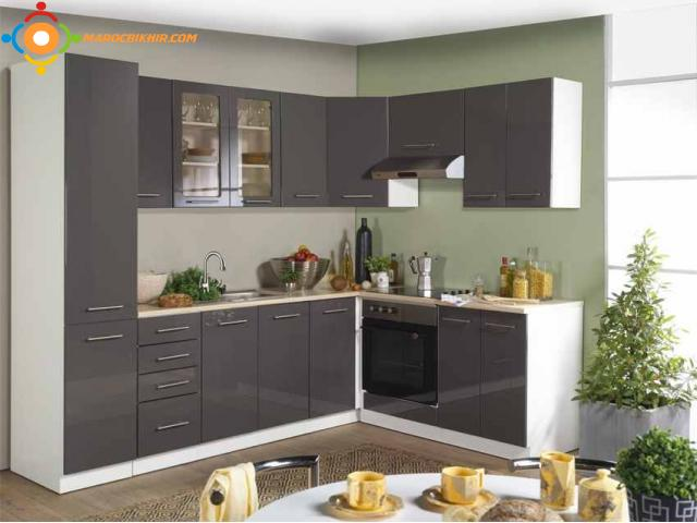 cuisine moderne sur mesure bikhir annonce bon coin maroc. Black Bedroom Furniture Sets. Home Design Ideas