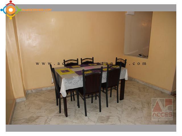exclusif spacieux appartement meuble sur la corniche a louer bikhir annonce bon coin maroc. Black Bedroom Furniture Sets. Home Design Ideas