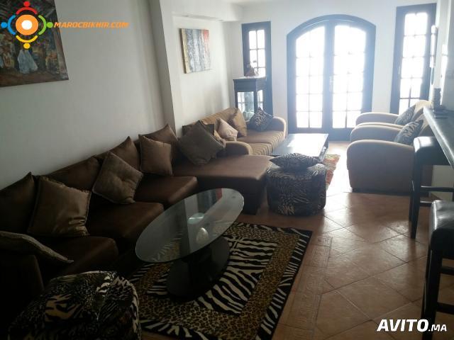 appartement duplex meuble bikhir annonce bon coin maroc. Black Bedroom Furniture Sets. Home Design Ideas