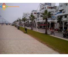 appart meublé à la corniche de la plage de Martil Tétouan