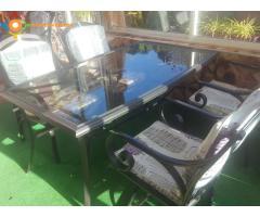 salle à manger pour terrasse