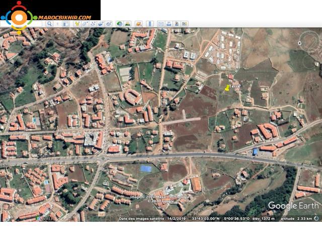 Terrain pour villa de 600m2 à imouzzar, fes, Maroc