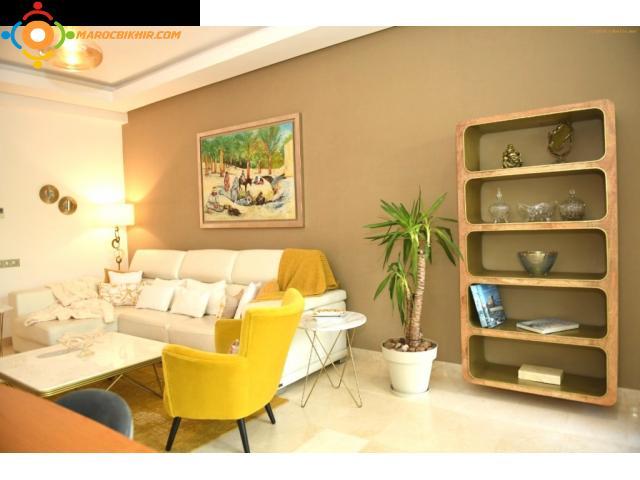 Appartement meublé de luxe en location à rabat souissi