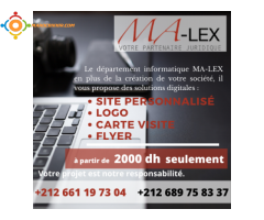 Création d'entreprise à Tanger avec domiciliation à Tanger Ma-Lex
