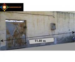 Terrain constructible titré de 253 m2 à Taza