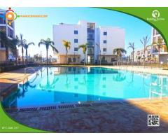 Location d'un appartement meublé à Marina Rabat