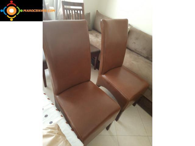Chaises a vendre